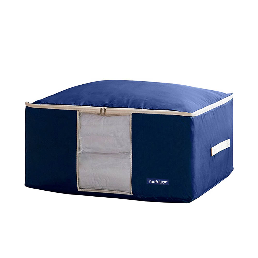 Large Oxford Storage Bag Quilt Bedding Duvet Laundry Organizer - Royal Blue