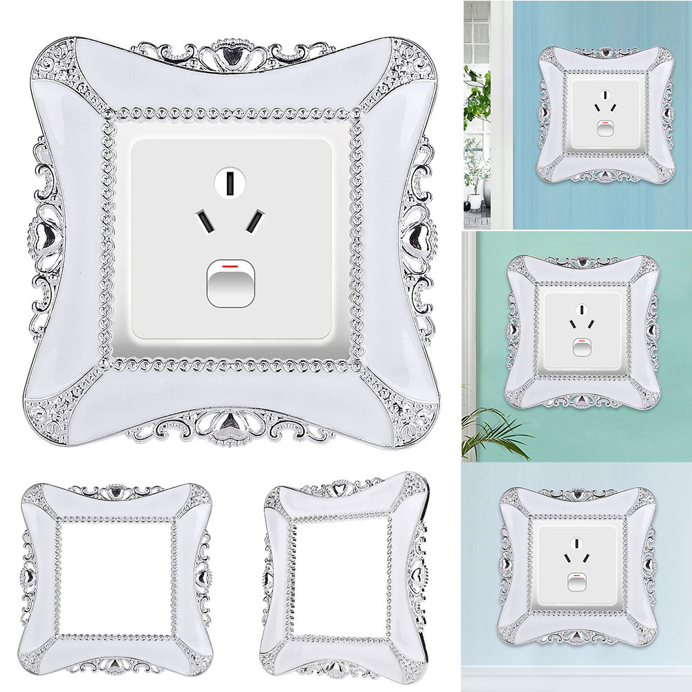 Switch Stickeer Cover Wall Decoration - White