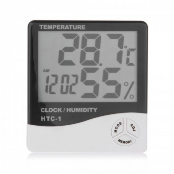 Indoor LCD Clock Digital Humidity and Thermometer