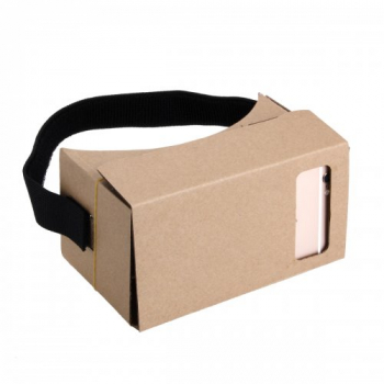 Google Cardboard Virtual Reality 3D Glasses with NFC 5.4 inch Screen