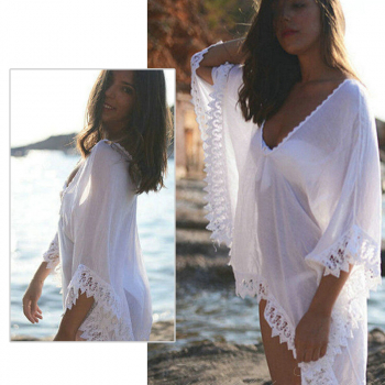 Womens Beachwear Bikini Cover Up Kaftan Summer Dress