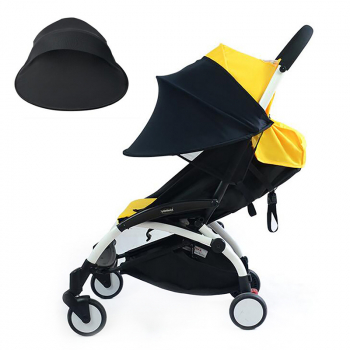 Baby Carriage Sun Shade Canopy for Car Seat Pushchair Stroller - Black
