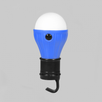3pcs LED Outdoor Camping Battery Operated Night Light - Blue