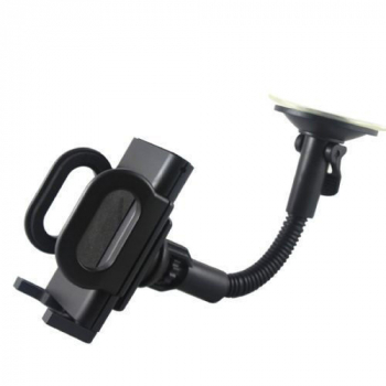 Universal In Car Mobile Phone Holder with Locking Suction Mount