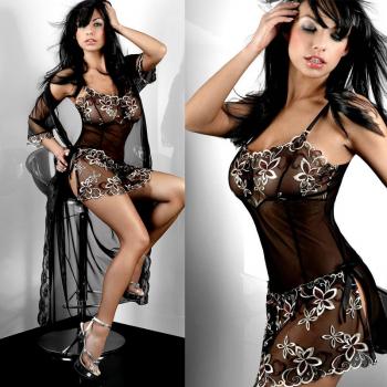 Sexy Women Lingerie Underwear Ladies G-string Bra Sleepwear Nightwear L