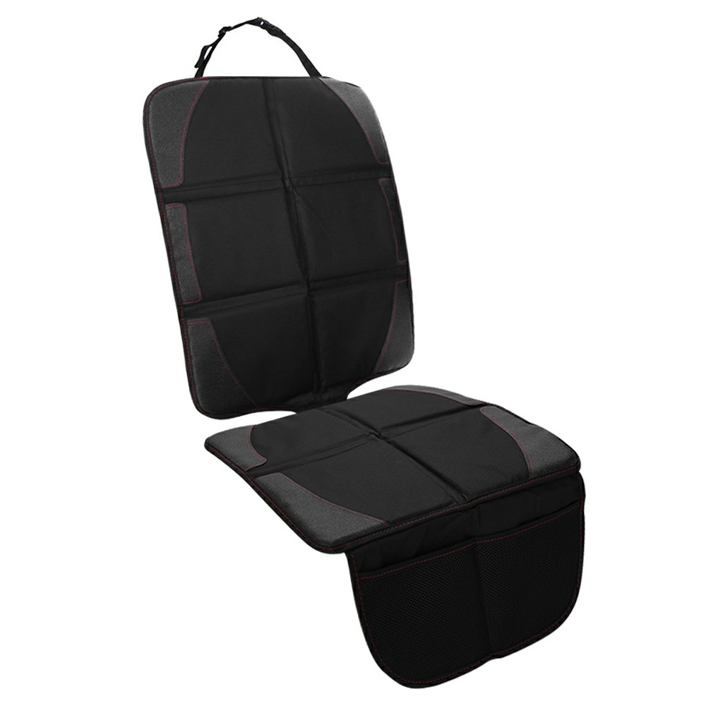 Black Safety Mat Cushion Cover Waterproof Car Seat Protector