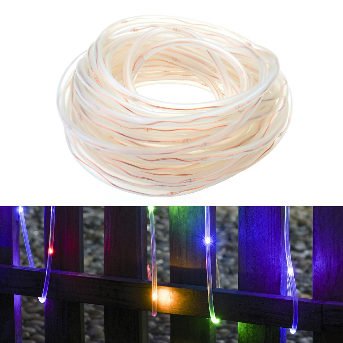 Battery Operated 120 LED String Lights with Remote Controller