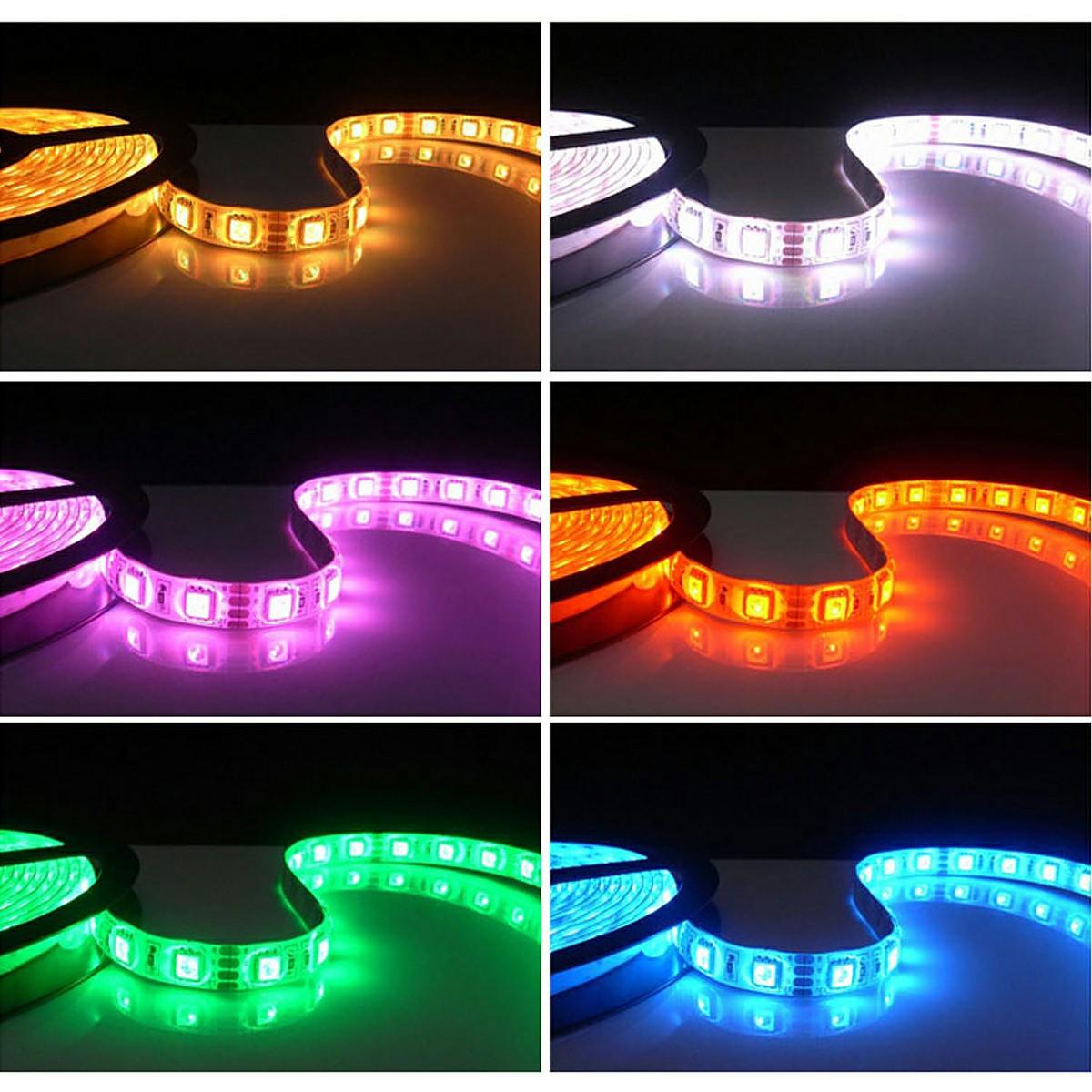 1M 5050 Waterproof 30 LED RGB Strip Mood Lights