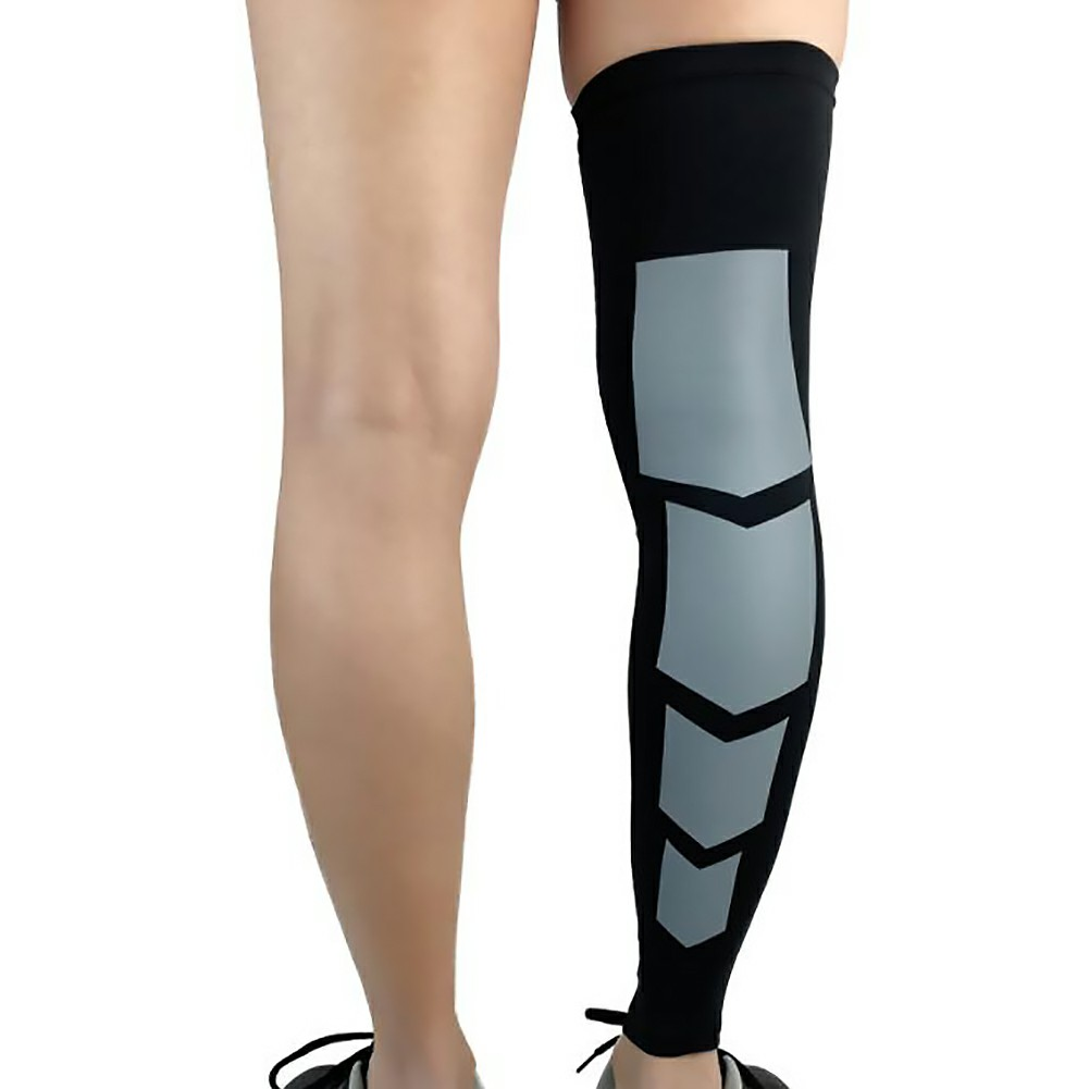 Sport Leg Support Socks Varicose Veins Calf Compression Sleeve - M