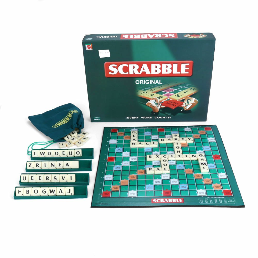 Funny Scrabble Crossword Board Game Family Party Gaming Toy and Gift