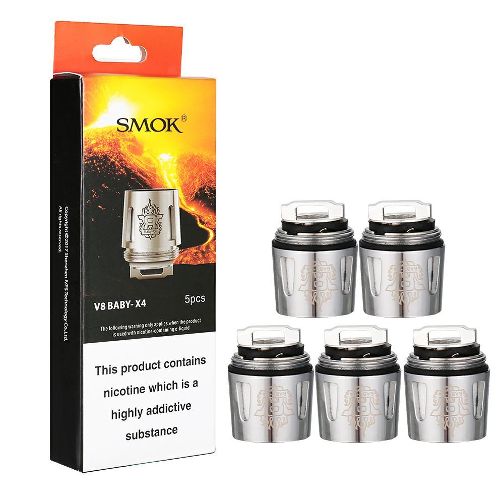 SMOK V8 BABY-X4 Coil Units 0.15ohm (5PCS)