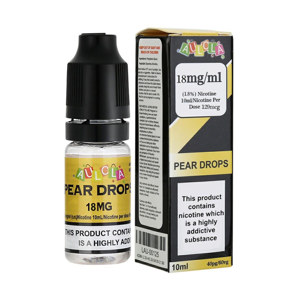 Aulola TPD Pear Drops Sensation E-liquid-10ML-18MG