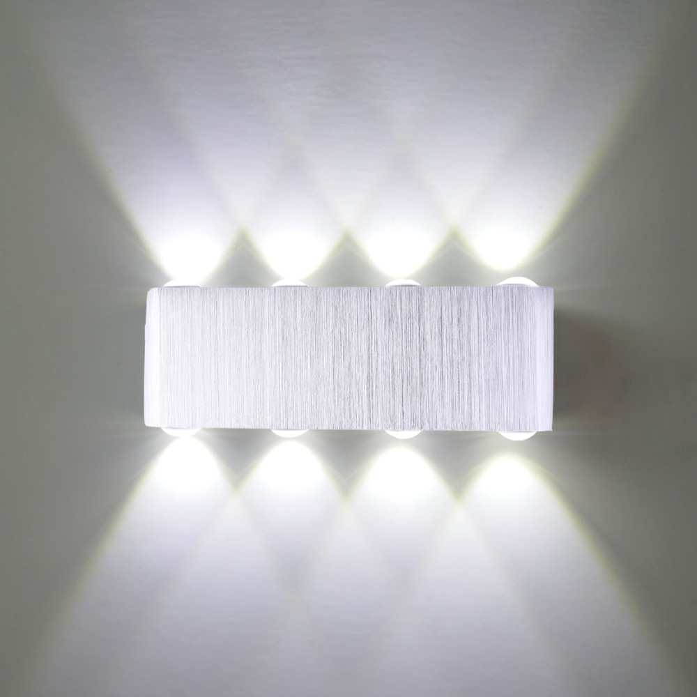 8W LED Up Down Lamp Sconce Spot Lamp Decoration Light - Cold White Light