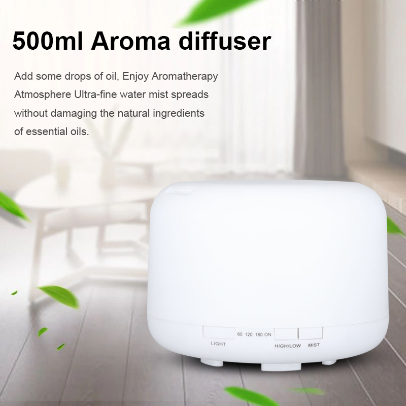 500ML Aroma Diffuser Ultrasonic Air Mist Humidifier with