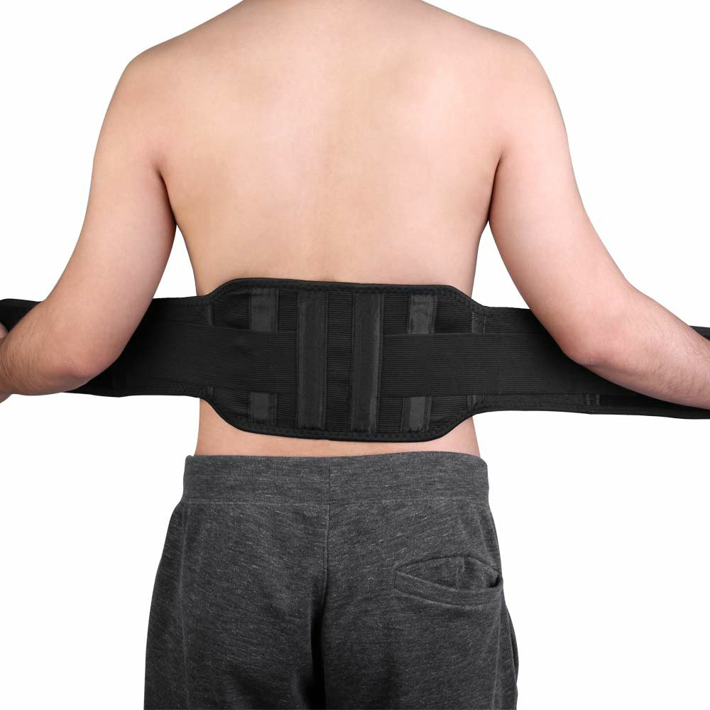 Magnetic Back Support Self-heating Belt Lower Lumbar Brace - XL