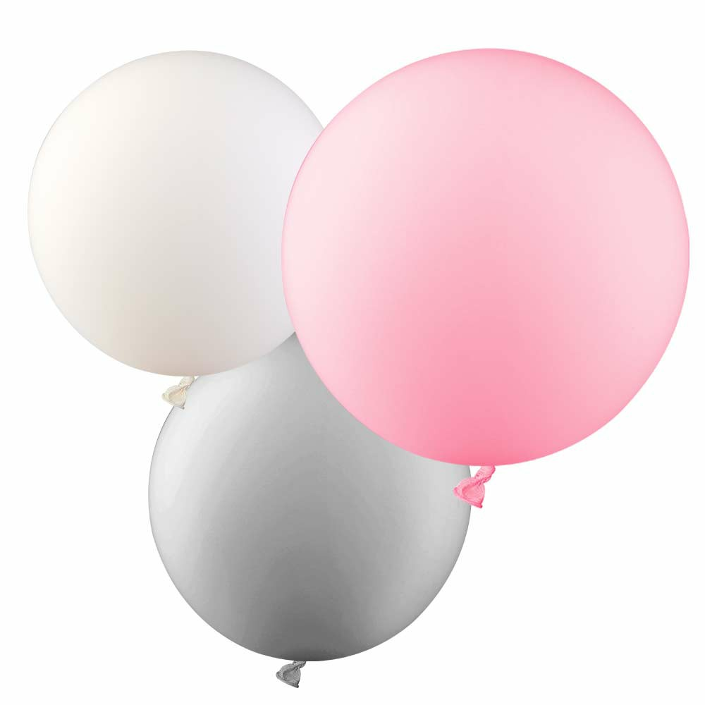 5 Pieces Round Latex Balloons 36 inches Wedding Decor Helium Big Large Giant Ballons for Wedding Festival