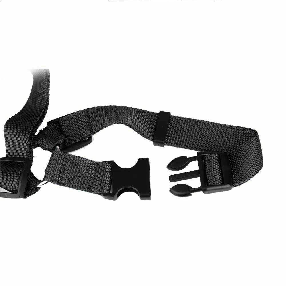 Pet Car Safety Seat Belt Harness Traction Rope - Black