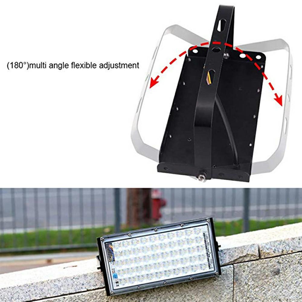50W LED Flood Light Outdoor Mains Power Garden Floodlight Security Light Waterproof