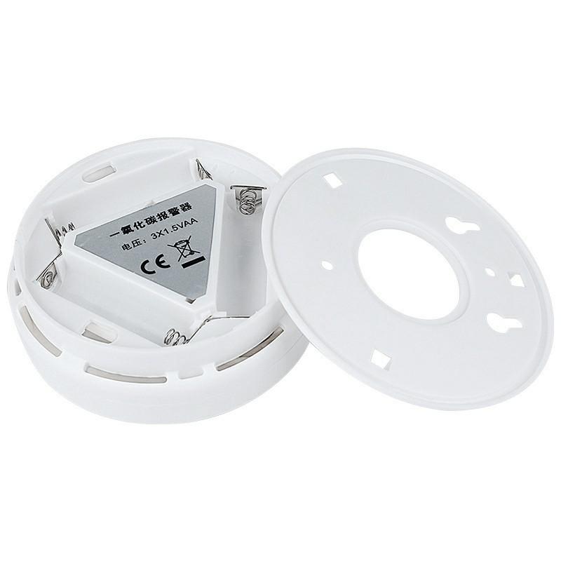 LCD CO Detector Carbon Monoxide Alarm