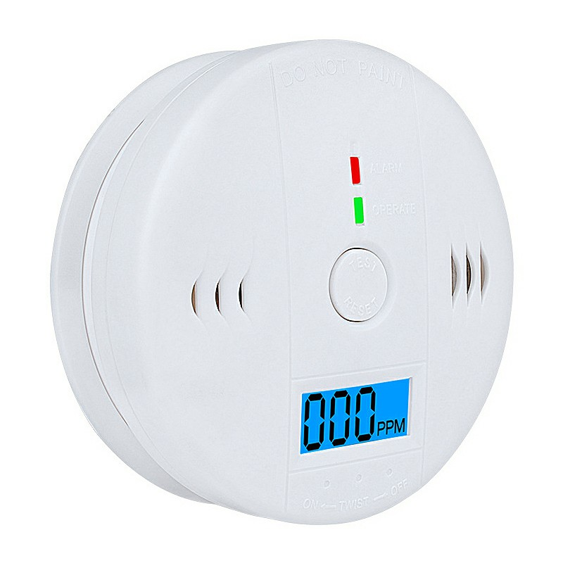 LCD Carbon Monoxide CO Detector Poisoning Gas Sensor Monitor Warning Alarm Carbon Monoxide Alarm