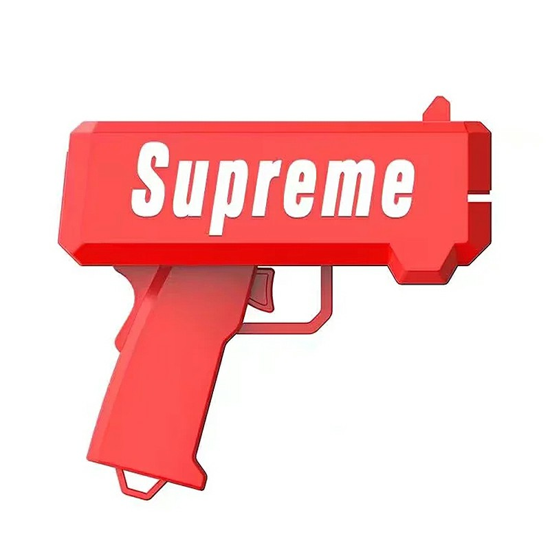 Supreme Spray Money Gun Cash Cannon Shoot Gun
