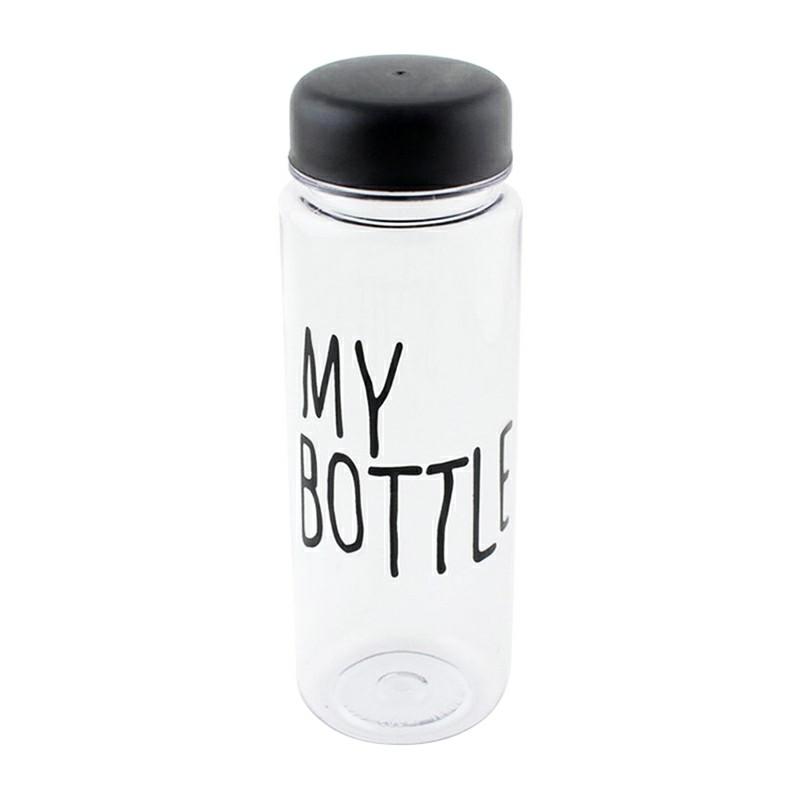 500ML My Bottle Safe Plastic Creative Lemon Milk Juice Bottle