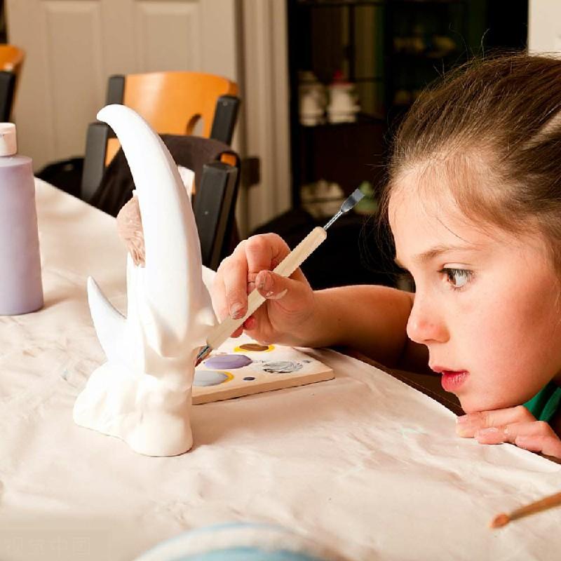 11pcs Kit Tool Polymer Clay Sculpting Ceramics Model Wood Handle Pottery Carve