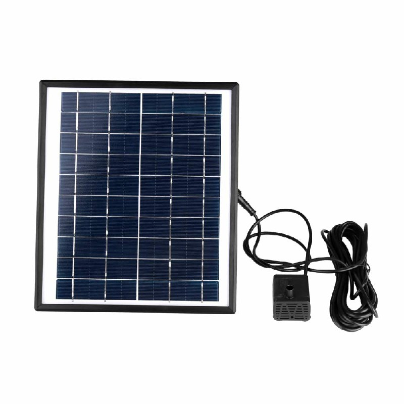 5W 400L/H Solar Panel Powered Water Pump Garden Pool Fountain