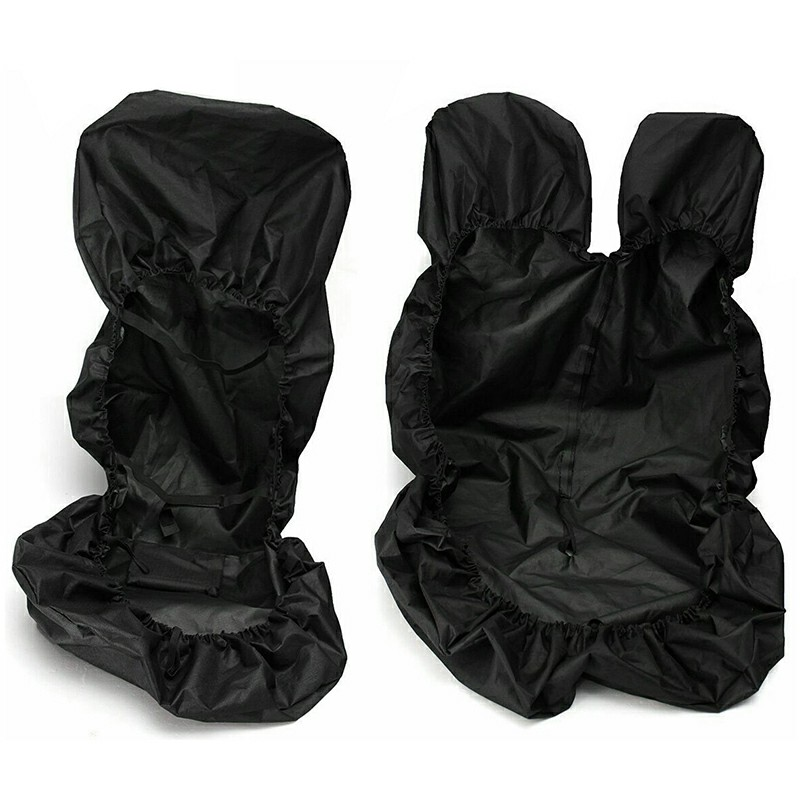 Black Waterproof Van Seat Covers Protector Set 2+1 for Ford Transit