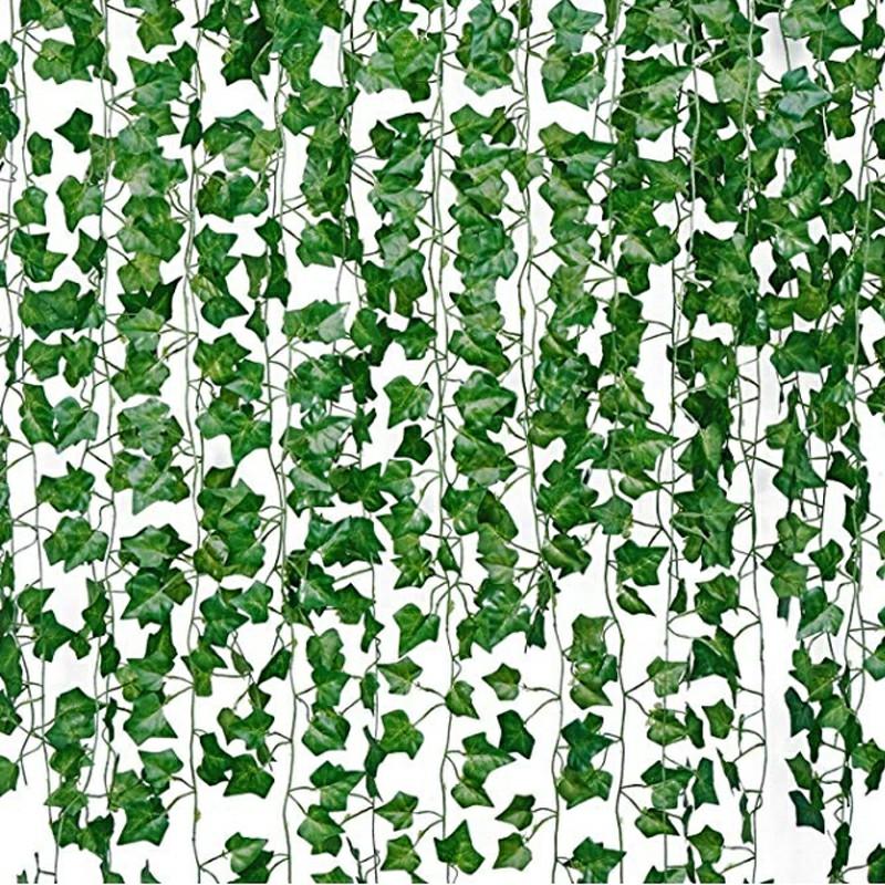 12 pieces Artificial Grape Parthenocissus Leaves