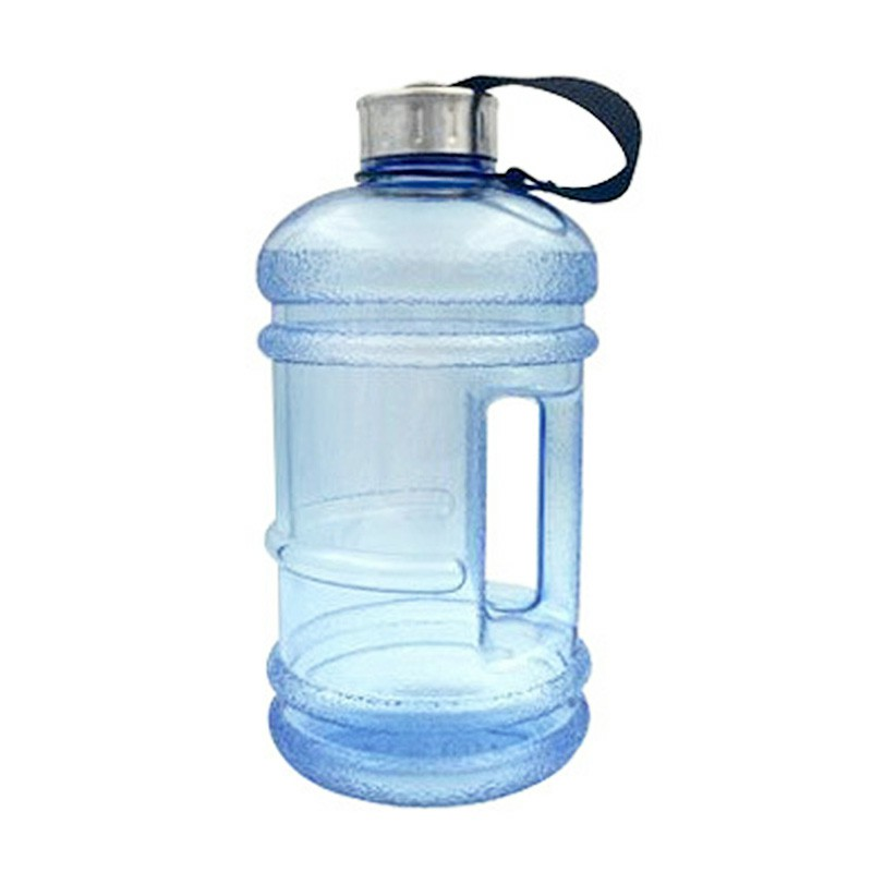 2.2L Big Sport Water Bottle BPA Free Leakproof Gym Drinking Kettle - Light Blue