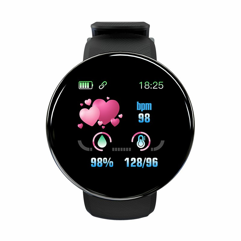 IP65 Heart Rate Monitor Bluetooth Fitness Tracker Smart Watch