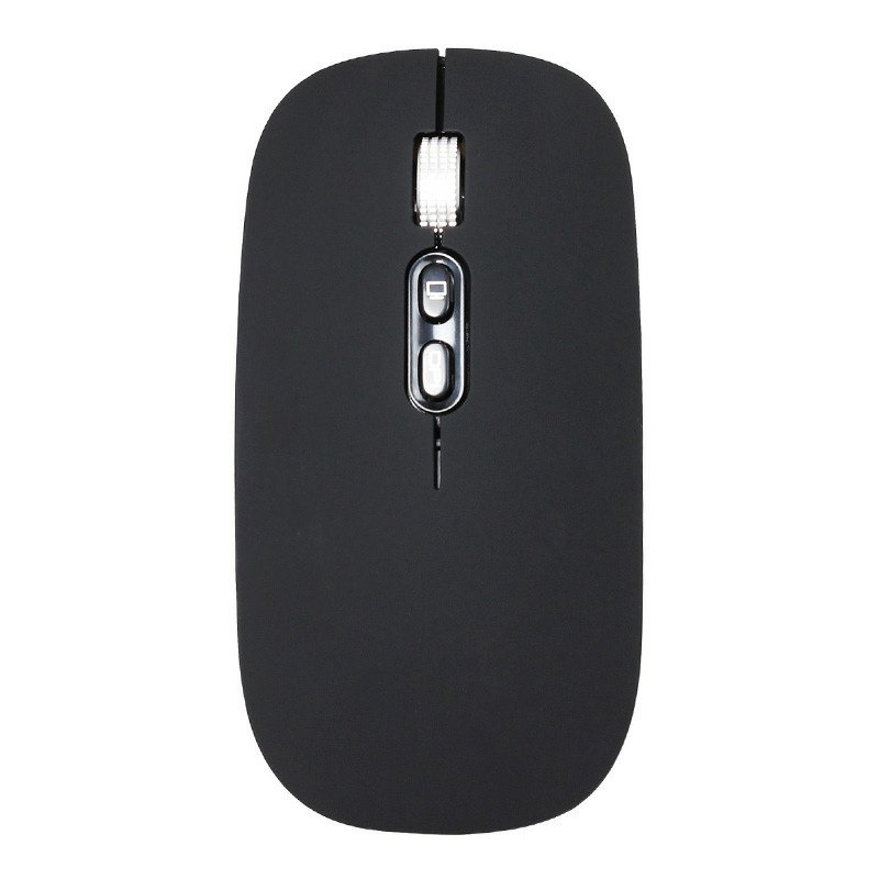 M103 Wireless 1600DPI 2.4G Optical Mouse with USB Receiver - Black