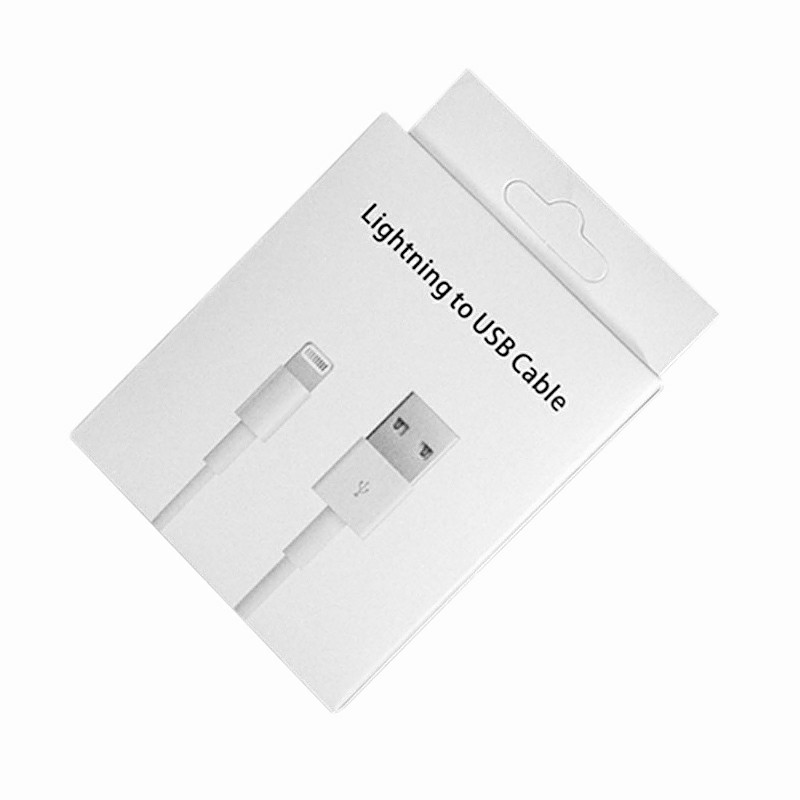 Lightning to USB Cable Packing Box for iPhone Series 5/6/7/8/7plus/8plus Data Cable