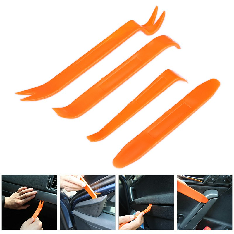 4pcs Car Door Plastic Trim Panel Dash Remover
