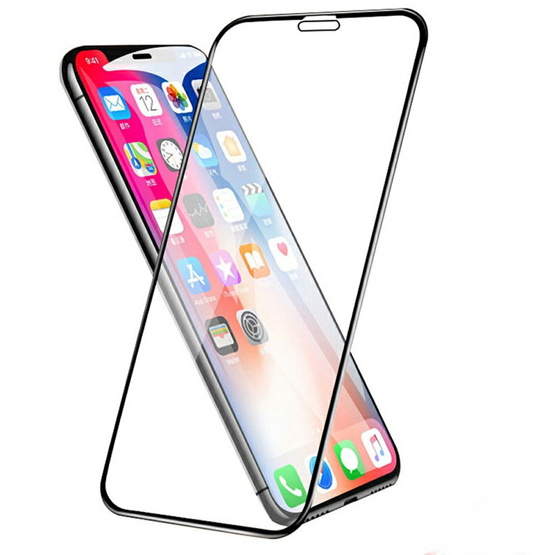 2.5D Full Coverage Film Tempered Glass Screen Protector for iPhone XR/iPhone 11