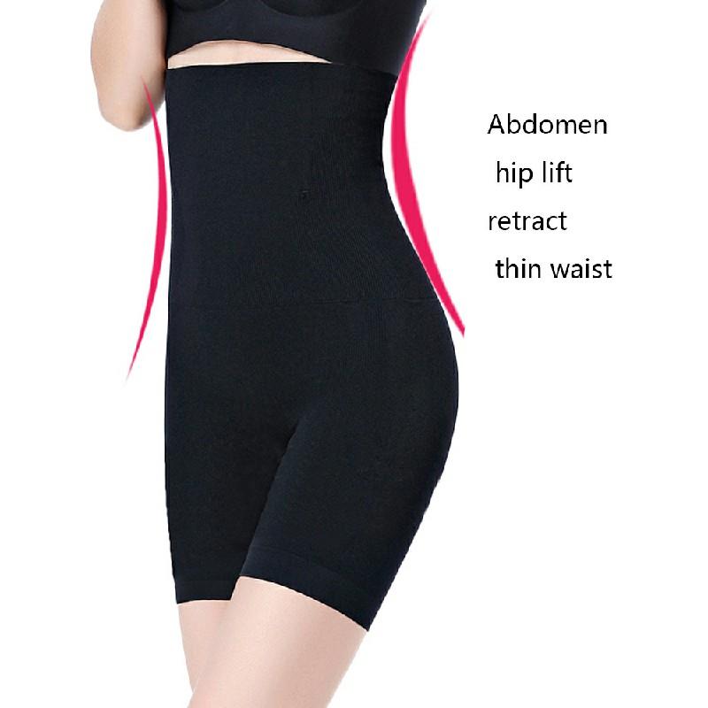 Women High Waist Fat Burner Body Slimming Shaper Tummy Control Shapewear Pants