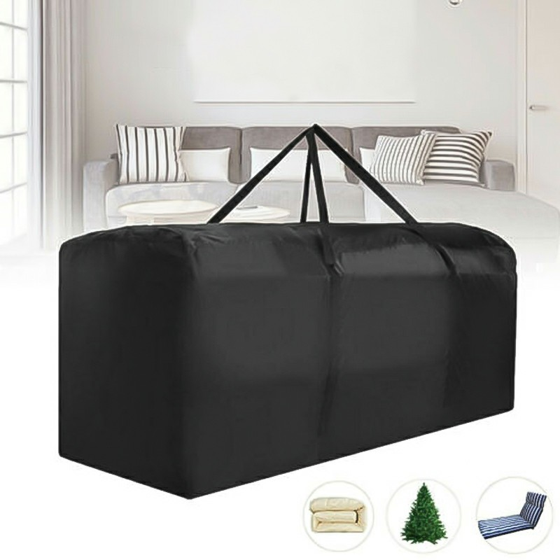 Outdoor Waterproof Garden Furniture Covers 173x76x51cm - Black
