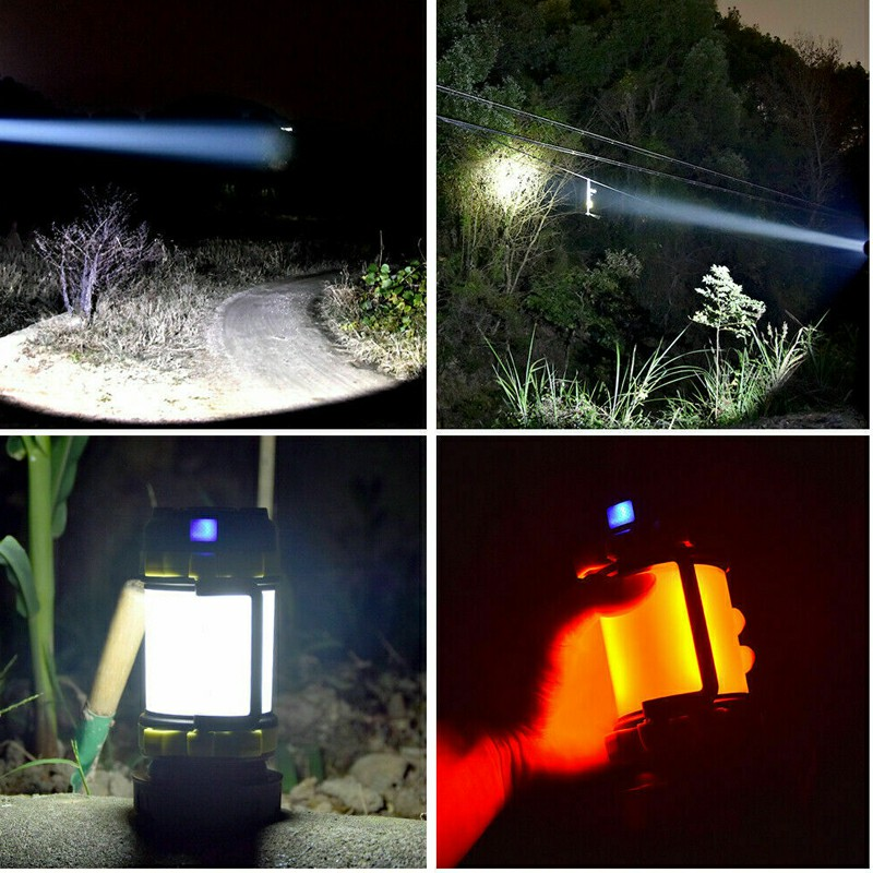USB Rechargeable LED Camping Light and Torch