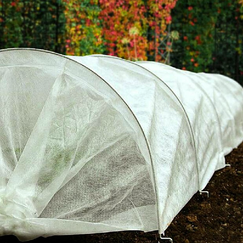 2x10m Wide Garden Cold Frost Wind Fleece Cover for Winter Plant Protection