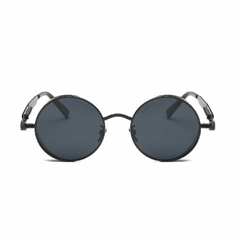Vintage Polarized Steampunk Sunglasses UV400