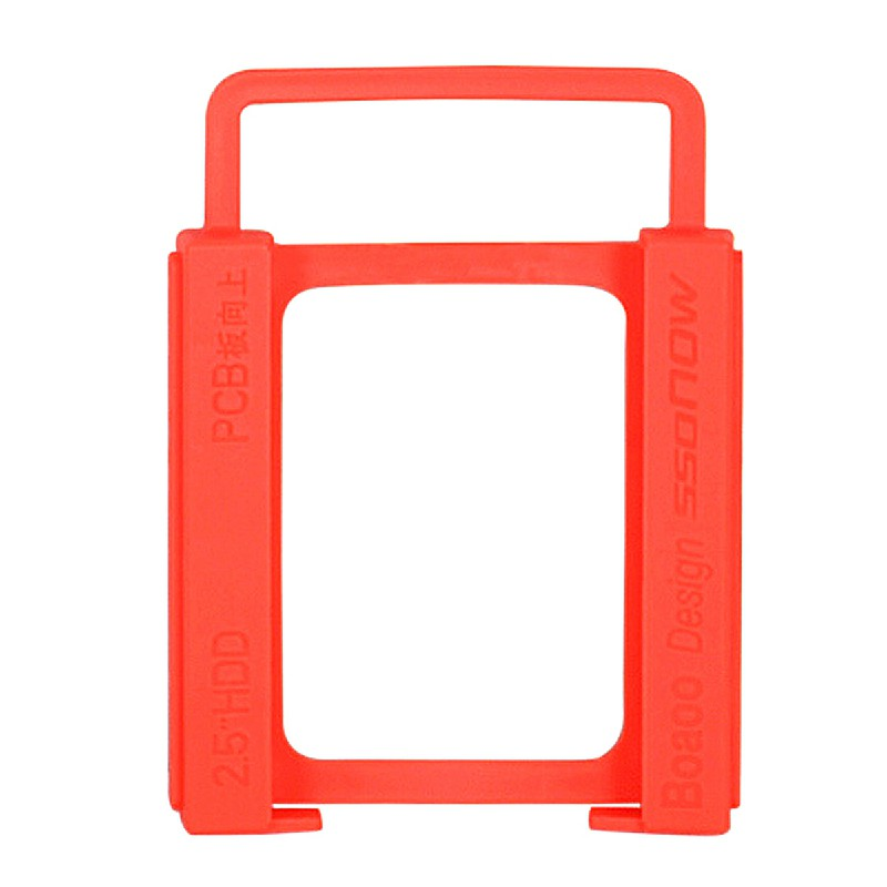 2.5 inch to 3.5 inch SSD Hard Drive Silicone Stand Mounting Bracket