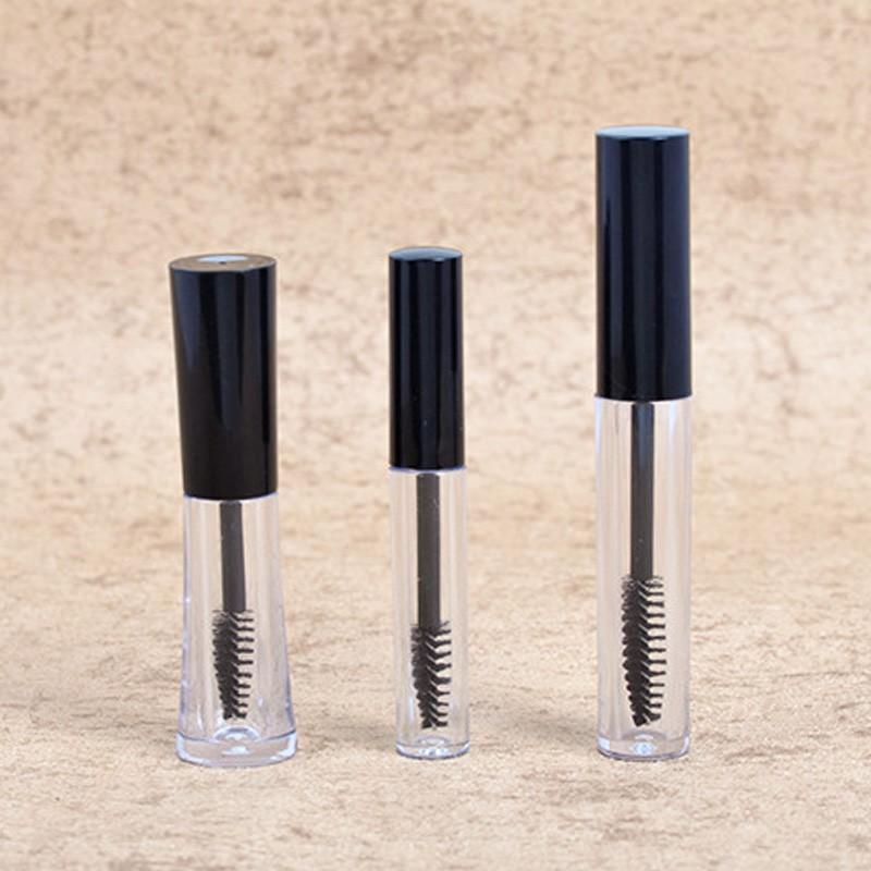 Mini Empty Mascara Tube with Brush Eyelash Wand Bottle - 3ml