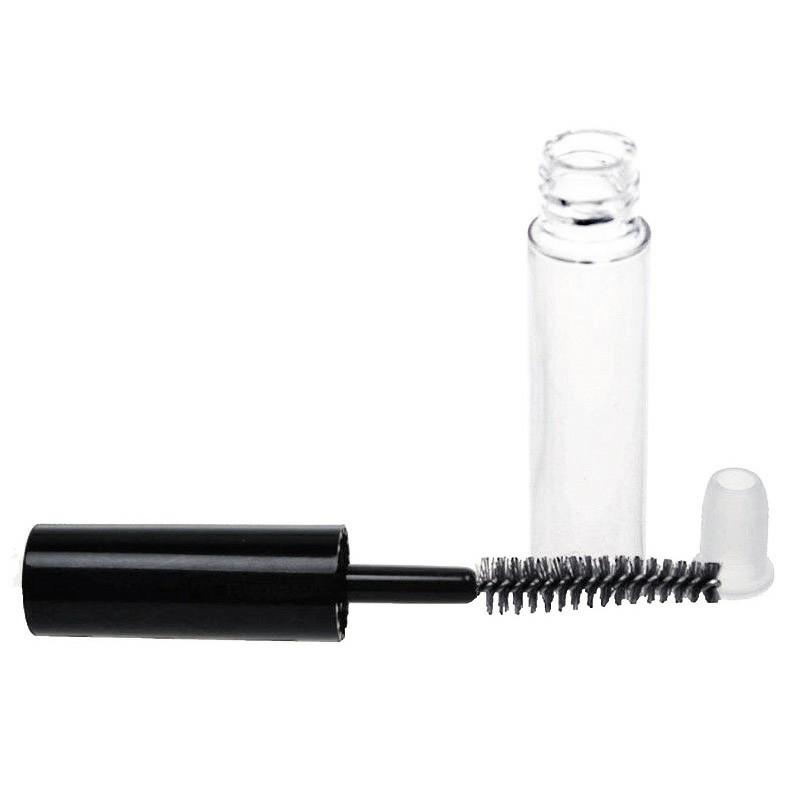 Mini Empty Mascara Tube with Brush Eyelash Wand Bottle - 1ml