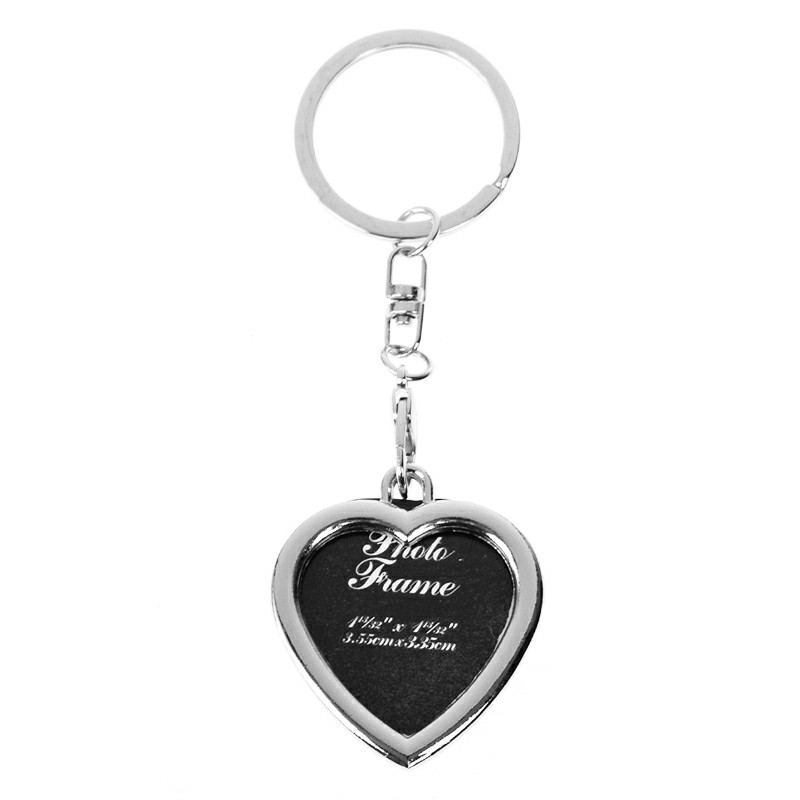 Mini Metal Alloy Keychain Keyring Key Chain - Heart Shape