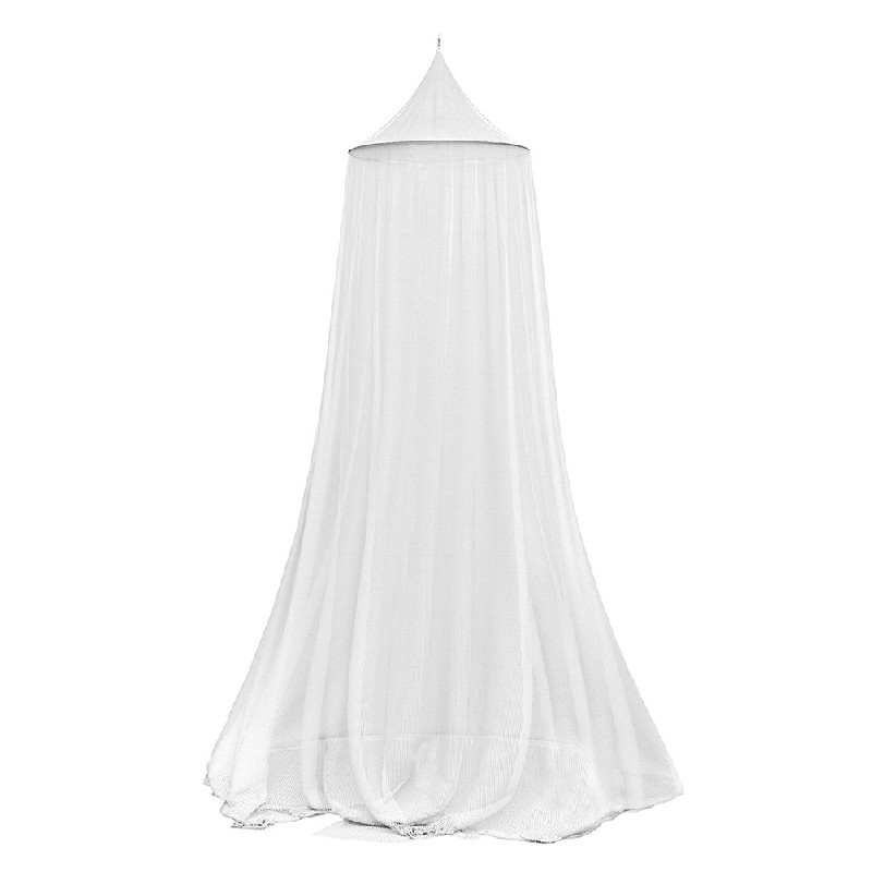 Lace Princess Dome Mosquito Net Mesh - White