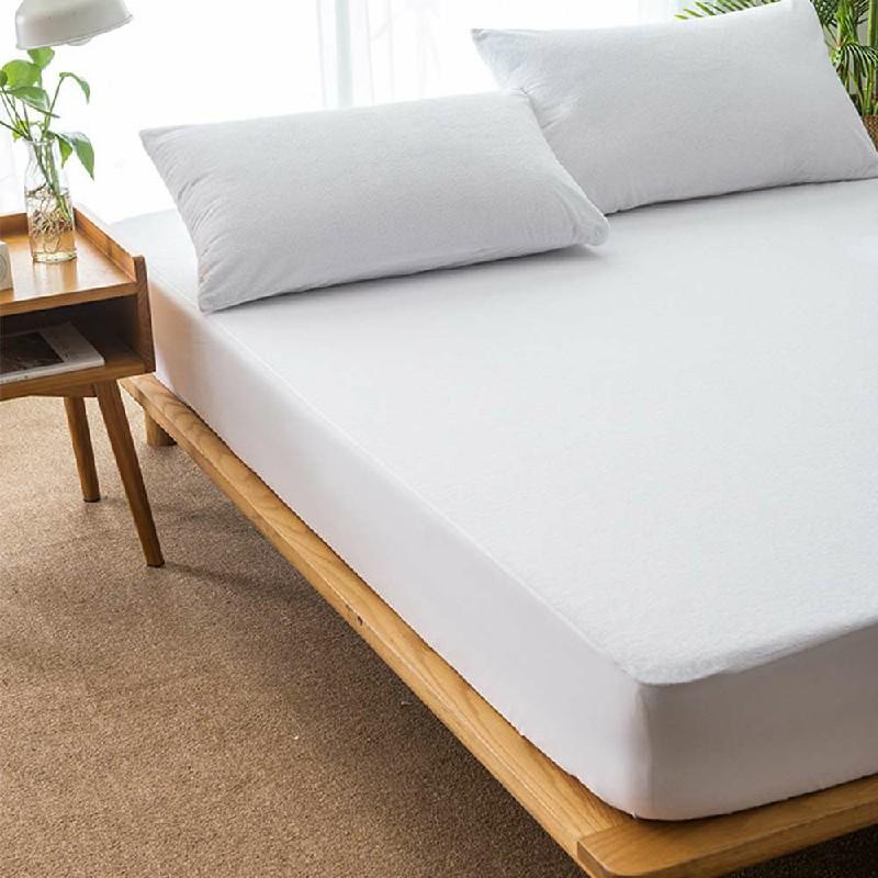 Extra Super Waterproof Terry Towel Mattress Protector - Single 90cm x 190cm + 30cm