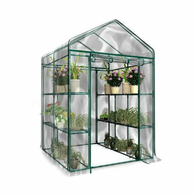 Heritage Garden PVC Greenhouses Cover 4-Tier - 143x143x195cm(Only Cover No Shelf)