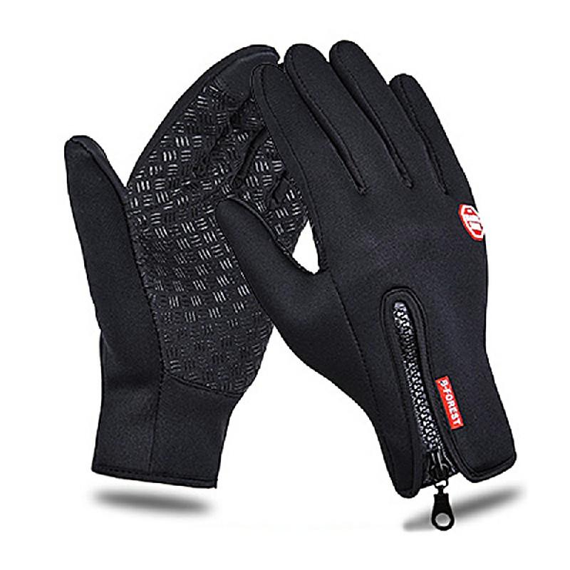 Winter Waterproof Touch Screen Warm Gloves - M