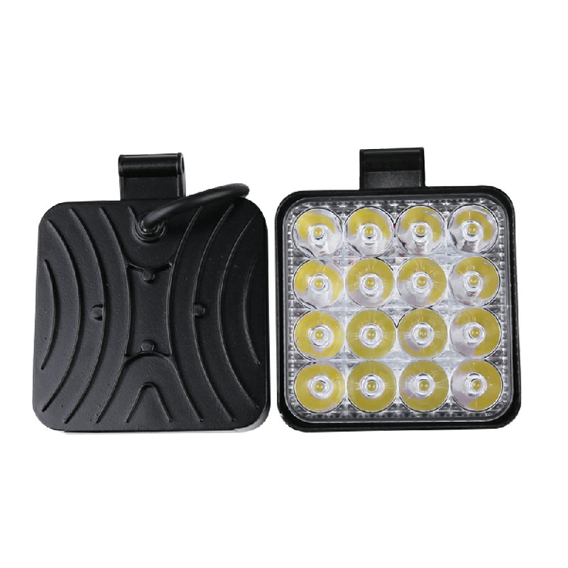 2pcs 48W LED Bar Flood Spot Lights for Offroad Car Truck SUV